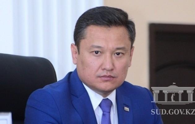 ВЮжно-Казахстанском областном суде новый председатель