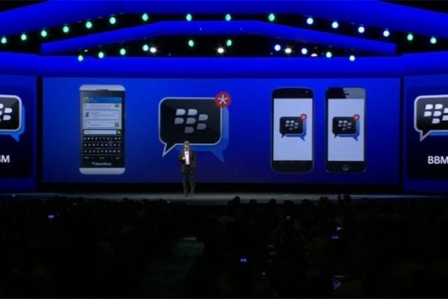 BlackBerry запустила мессенджер под iOS и Android