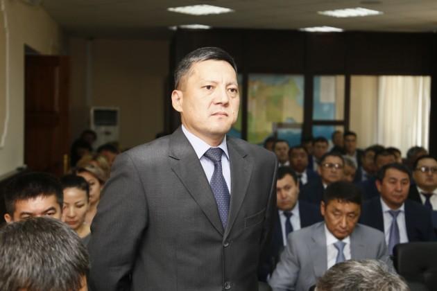 Назначен руководитель Актюбинского департамента госимущества