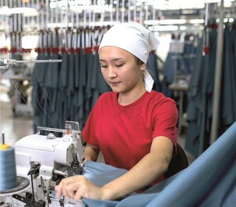 Казахстан увеличил экспорт домашнего текстиля
