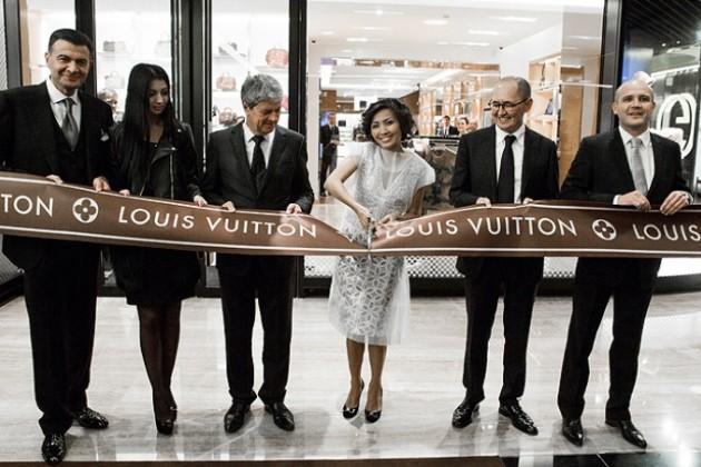 Louis Vuitton: 455-й – в мире, первый – в Казахстане