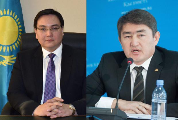 Тимур Шаймергенов и Айбатыр Жумагулов освобождены от должностей