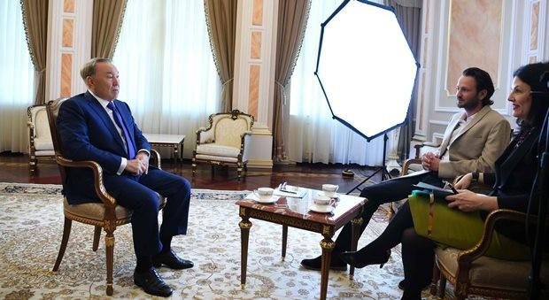 National Geographic снимает фильм «Мегасооружения: Астана. Город будущего»