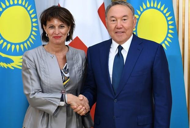 Швейцария очень важный партнер Казахстана вЕвропе