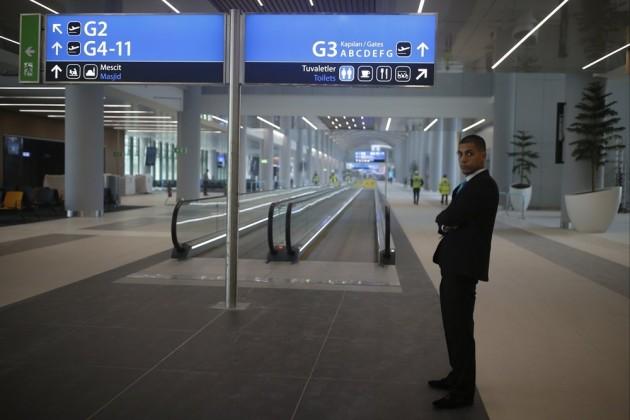 ВСтамбуле открыли будущий крупнейший аэропорт мира