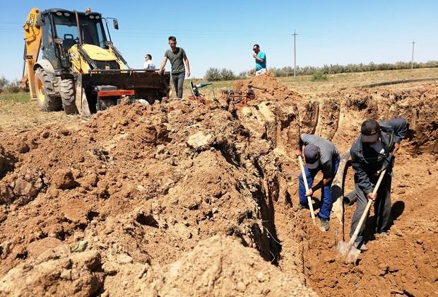 Как идет строительство газопровода Сарыарка