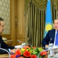 Нурсултан Назарбаев провел встречу с Каримом Масимовым
