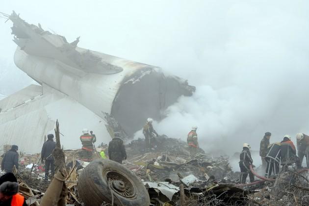 Разбившийся под Бишкеком Boeing был перестрахован вСК Евразия