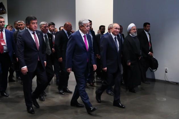 Глава государства принял участие в форуме «Транзитный потенциал Евразийского континента»