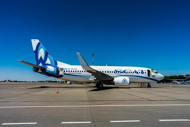 Парк авиакомпании SCAT пополнился еще одним «Боинг 737−300»