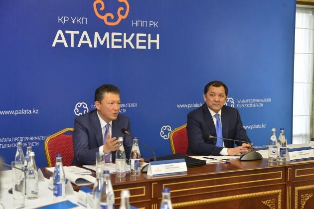Тимур Кулибаев провел встречу сбизнесменами Атырау