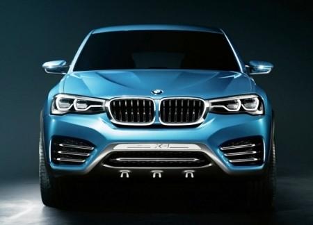 Отличия серийного BMW X4 от концепта будут минимальны
