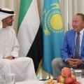 Нурсултан Назарбаев находится в ОАЭ