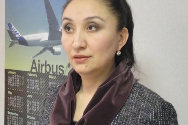 Тоты Амирова стала и. о. заместителя председателя Комитета гражданской авиации