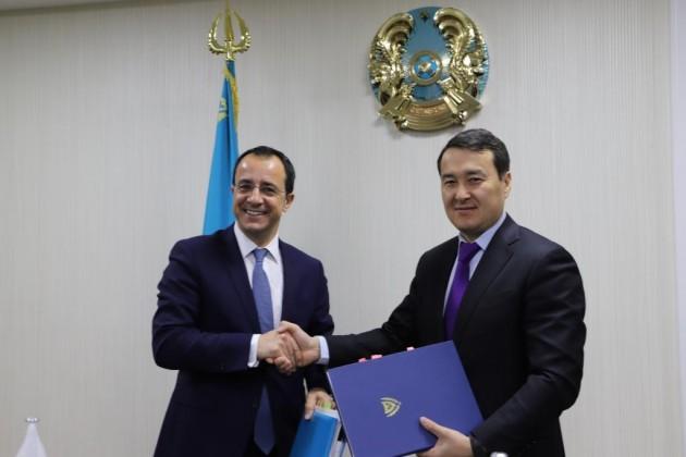 Казахстан и Кипр договорились об избежании двойного налогообложения
