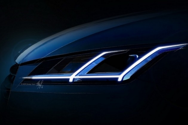 Audi опубликовали еще два тизера ТТ