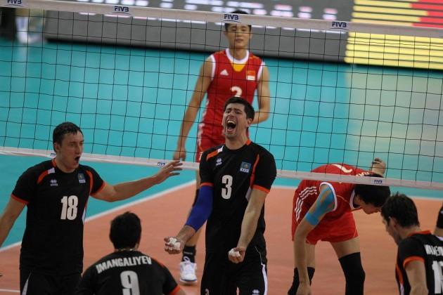 Мужская сборная Казахстана по волейболу вышла в полуфинал Кубка Азии