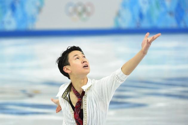 Денис Тен выступил в короткой программе на ЧМ в Шанхае