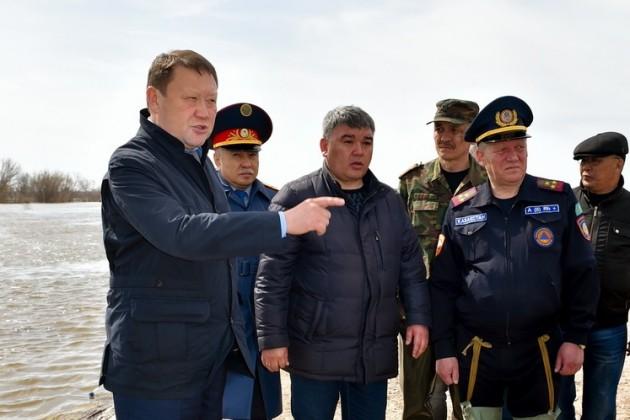 Кумар Аксакалов объявил режимЧС вПетропавловске
