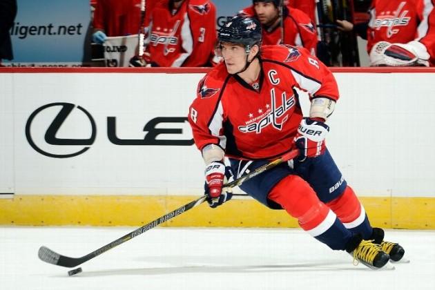 Александр Овечкин возглавил список снайперов НХЛ