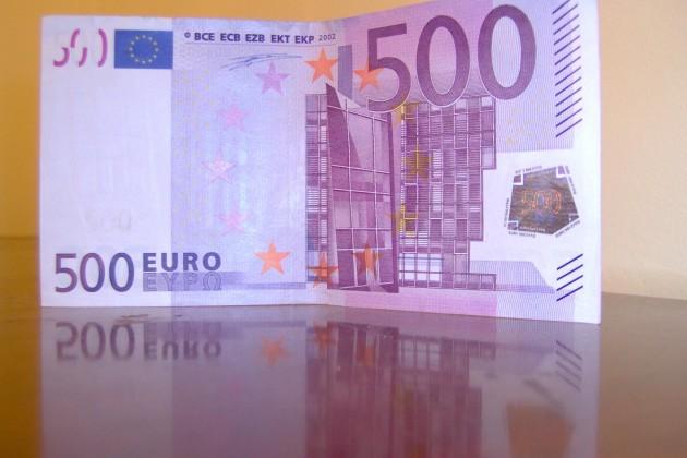 Банк Америки предложил изъять купюры в 500 евро