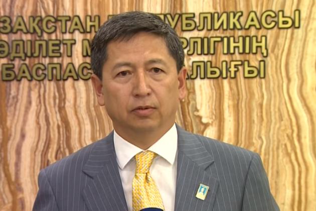 Президент временно отстранил отработы Куатжана Уалиева