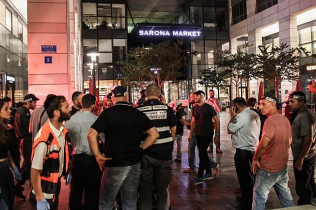 В центре Тель-Авива произошла стрельба