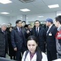 Аскар Мамин посетил предприятия Актюбинской области