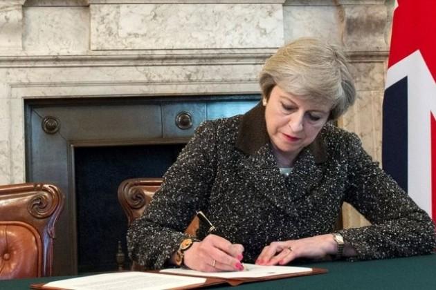 Тереза Мэй попросила отложить Brexit до 30 июня