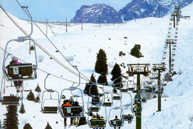 Чимбулак оказался в тройке самых популярных горнолыжных курортов для россиян