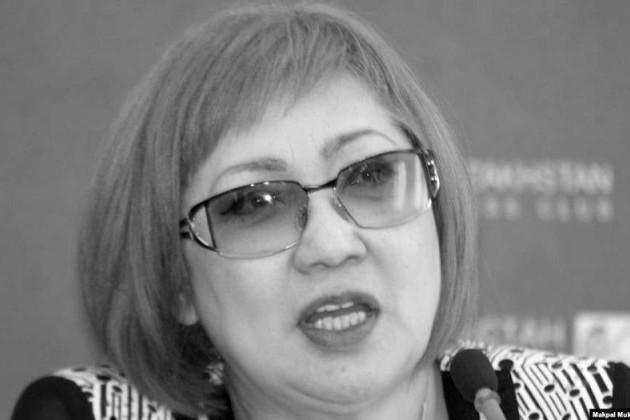 Скончалась журналист Розлана Таукина