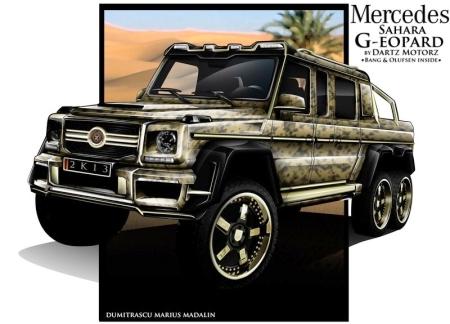 Dartz доработает шестиколесный Mercedes-Benz