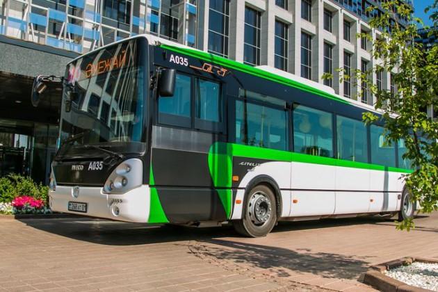 SMS-оплату запроезд введут вавтобусах Астаны