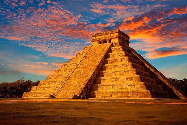 Страна древних народов майя