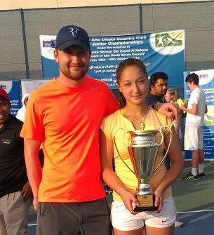 Казахстанская теннисистка выиграла турнир в Абу-Даби