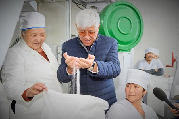НаАксуском сахарном заводе завершился первый этап модернизации