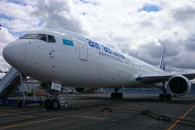 Парк Эйр Астаны пополнился новым Boeing-767