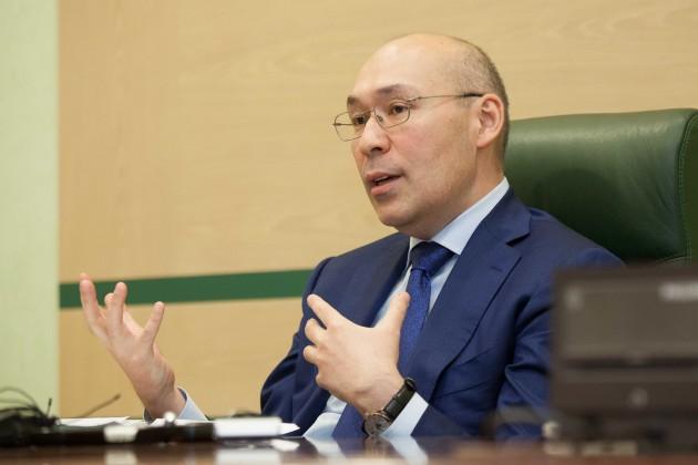 Келимбетов встретился с бизнесменами