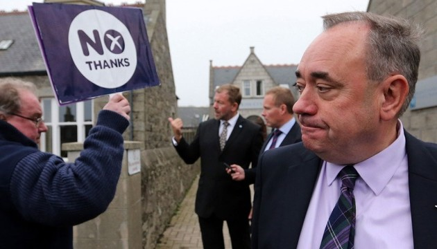 Глава правительства Шотландии уходит в отставку