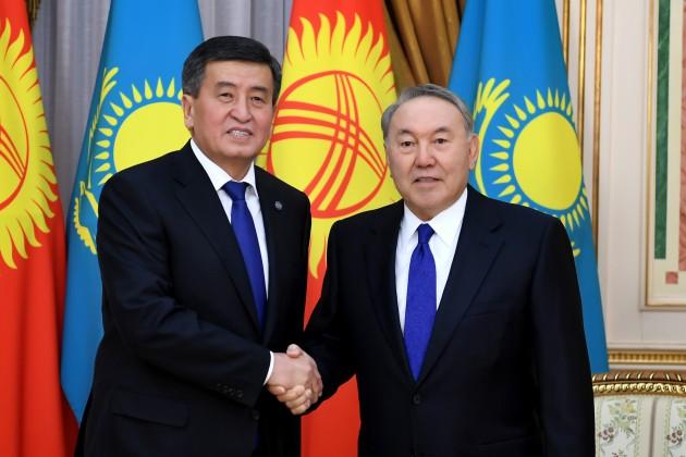 Президенты Казахстана иКыргызстана рассмотрели график встреч