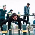 Банк Астаны открыл спортивно-игровую площадку встолице
