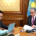 Ерболат Досаев отчитался по итогам работы за 9 месяцев