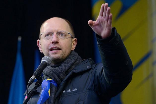 Яценюк утвержден на пост премьер-министра Украины