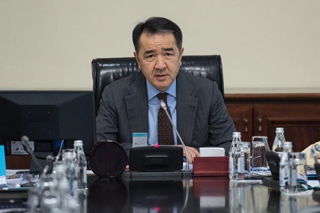 Бакытжан Сагинтаев привел впример кампанию «Недоверяю»