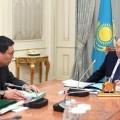 Нурсултан Назарбаев встретился с Ерболатом Досаевым
