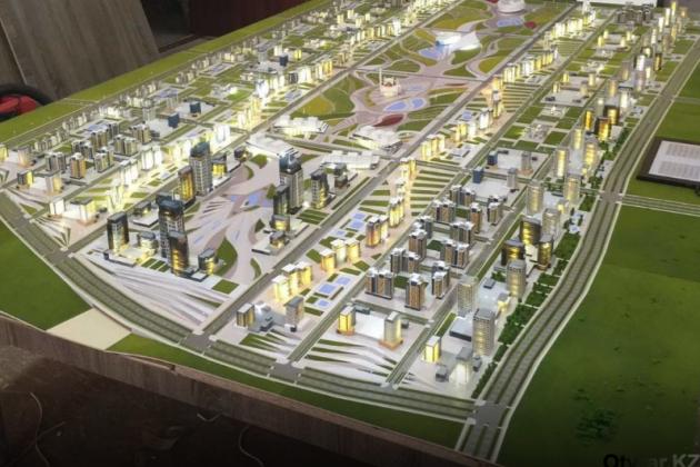 Началось строительство Шымкент-Сити