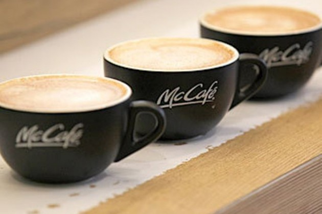 McDonald's - кофейный бренд