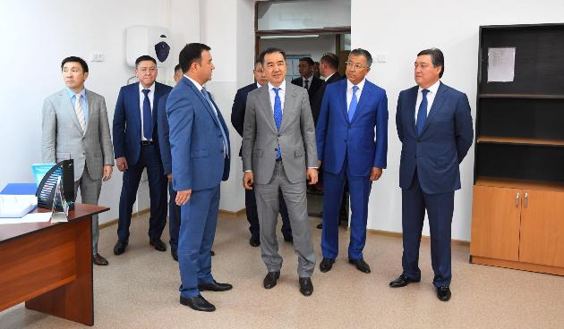 Бакытжан Сагинтаев проинспектировал переезд госорганов вТуркестан