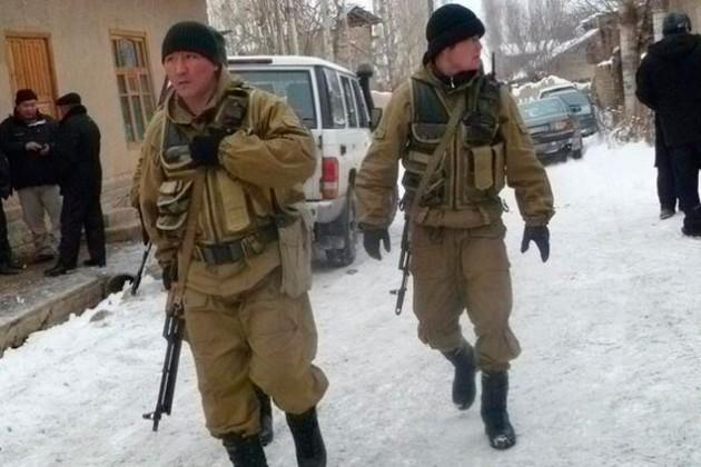 На границе Кыргызстана завязалась перестрелка с экстремистами