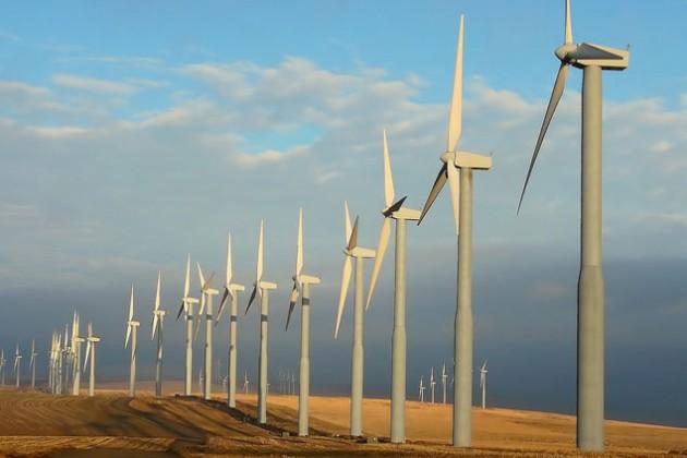 На Кордае запущена ветроэлектростанция